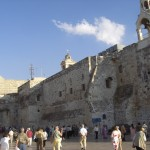Tourists flock to holy sites in Bethlehem.