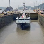 Panama Canal from a Cruise Ship Spearker's POV