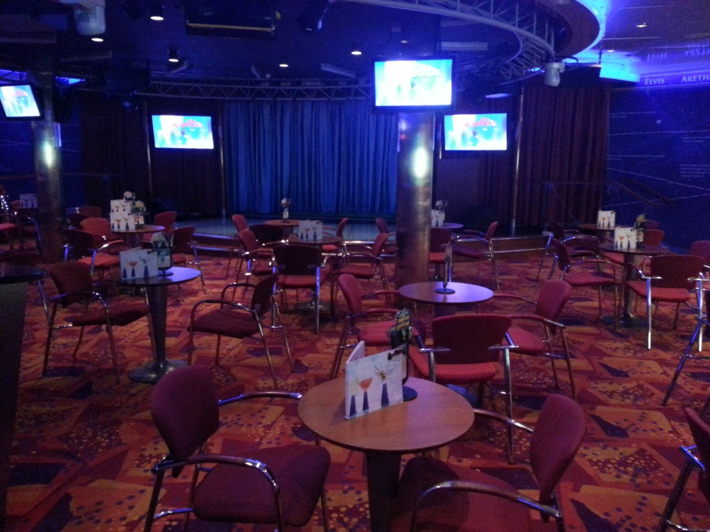 Cruise Ship Enrichment Speaking Venue