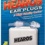 Hearos earplugs really work - and are reusable.