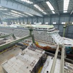 Norwegian Getaway under construction