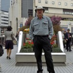Rick Deutsch in downtown Kobe, japan