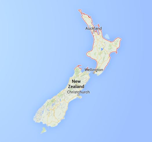 New Zealand - Home of the Kiwi's