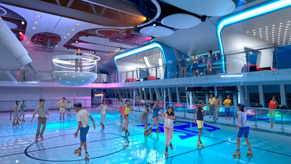 Skating on the Quantum of the Seas