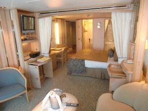 Seabourn has great rooms