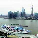 Ship in Shanghai Harbor