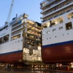 Major Cruise ship to grow while in dry dock; add 12%