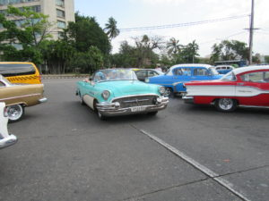 see classic cars in Cuba
