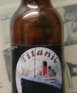 Titanic bottle of Ale